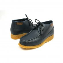 British Collection Knicks Navy Leather Lace up
