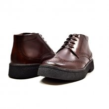 "Classic Playboy ""Classic"" Wingtip DK Brown Leather-TPR"