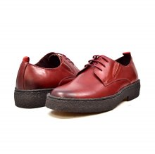 British Collection Playboy Original Low Burgundy Leather