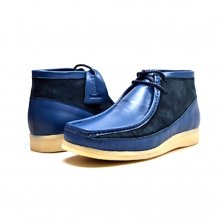 "British Collection ""Walkers""-Cobalt Blue/Navy Suede & Leather"