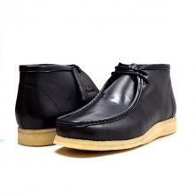"British Collection ""Walkers""-Black Leather"