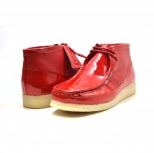 "British Collection ""Walkers""-Red Leather and Patent"