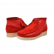"British Collection ""Walkers""-Red Leather and Suede"