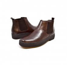 British Collection Playboy Soho Slip-on Brown Leather