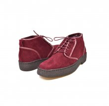 "British Collection Playboy Chukka ""Kaydence"" Burgundy Lamb Suede"