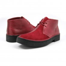 Classic Playboy Chukka Boot Wine/Wine Split Toe