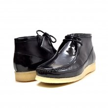 "British Collection ""Walkers""-Black Leather and Patent"