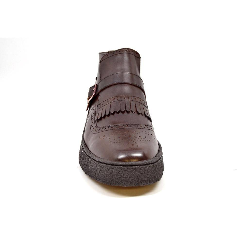 British Collection-Playboy Manhattan Brown Leather ...