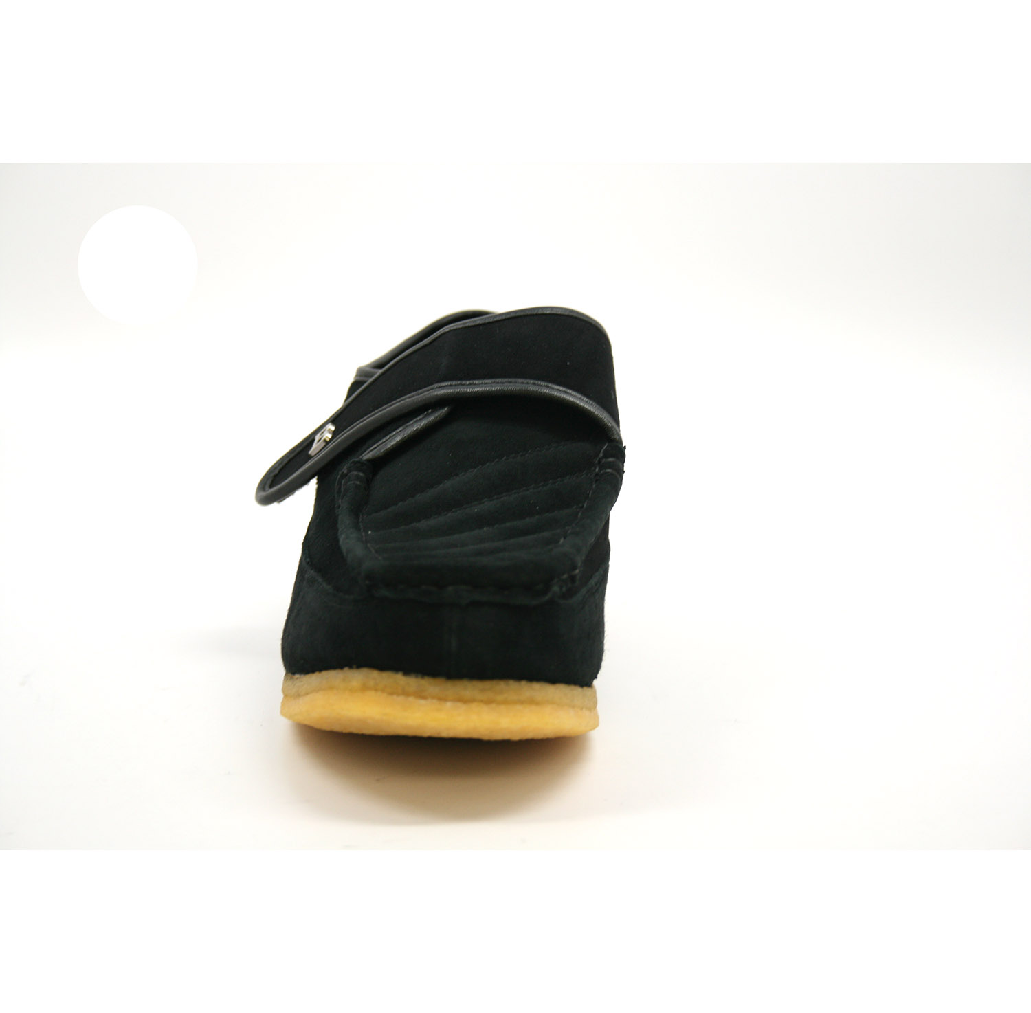 British Collection Royal Old School Slip On Black Suede  126-01 ... a4532c119