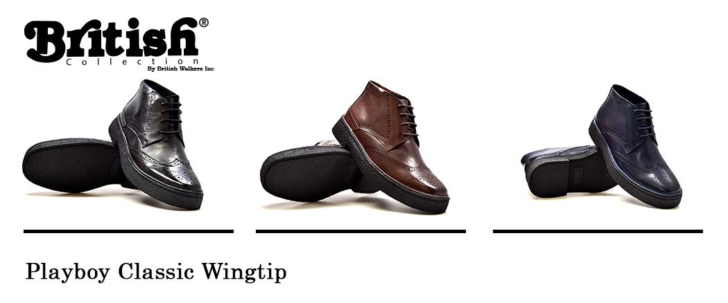 British Walk, old school Playboy shoes