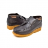 British Collection Classic Brown Leather Slip-on with Tassle