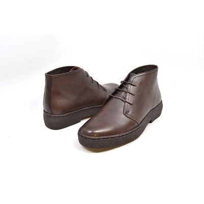 British Collection Playboy Original High Top Brown  Leather