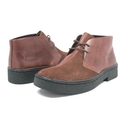 Classic Playboy Chukka Boot Brown/Brown Split Toe
