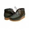 "British Collection""New Castle""-Green Leather  and Suede"