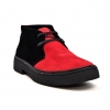 "Classic Playboy ""Trinidad"" Red and Black Suede"