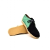 "British Collection ""Kingston,"" Green, Yellow, Black Suede"