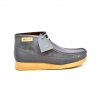 "British Collection""New Castle""-Grey Leather and Suede"