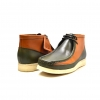 "British Collection ""Walkers""-Green and Tan Leather"