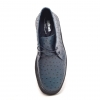 Classic Playboy Light Navy Ostrich Leather