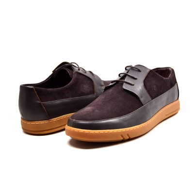 "British Collection ""Westminster"" Brown Leather and Suede"
