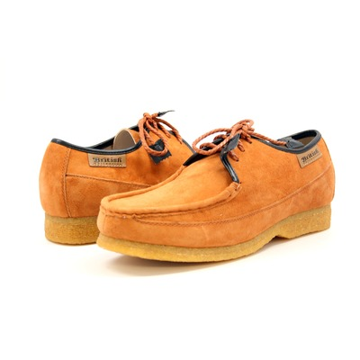 British Collection Crown-Tan Suede