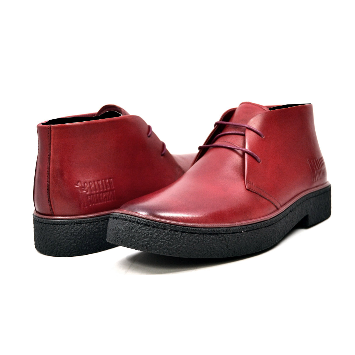 Classic Playboy Chukka Boot Wine Leather